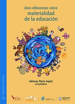 Cubierta para Diez reflexiones sobre Materialidad de la educación